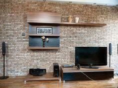 Cegiełka Brick Wall, Corner, Loft, Design Ideas, Interior Design, Decoration, House, Home Decor, Environment