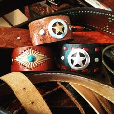 Always repurposed from old belts!
