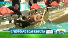 LAKEWOOD, Ohio – For 14 years Lakewood High School has put physics students to the test in the school natatorium. Fox 8's Kenny Crumpton has covered the wacky and wild Lakewood High Sc…