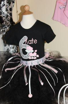 Greatstitch Black Poodle1st Birthday Second by GreatStitch on Etsy, $24.95