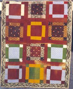 Nine-patch crib quilt, 1880. Pennsylvania.