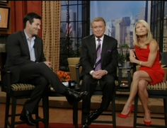 kelly ripa in tights | Kelly Ripa Showing Good Leg today!