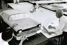 OG | 1957 Ford | Clay scale model