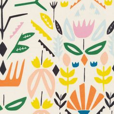 The Print & Pattern blog features cloud9 Fabrics by Leah Duncan