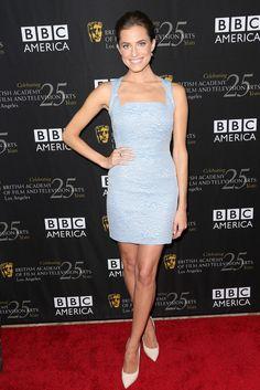 Allison Williams at the BAFTA LA TV Tea 2012