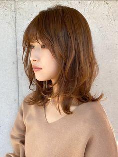 Short Hair With Bangs, Hairstyles With Bangs, Medium Hair Styles, Short Hair Styles, Japanese Hairstyle, Hair Remedies, Hair Color Balayage, Layered Hair, Hair Looks