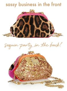 Pink. Leopard. Sequins. Who could ask for more?