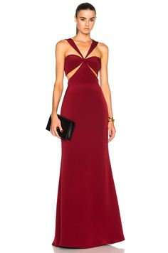 Eva Gown in Ruby