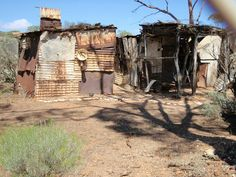Old miners shack  Kalgoorlie WA