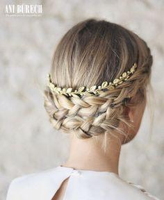 Penteados de noiva com tranças 2017: tendência que é sempre sucesso! Image: 6