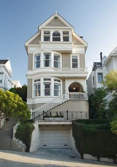 ♛  Luxurious victorian home – Pacific Heights, San Francisco #Home #Decor #Interior #Design #Exterior ༺༺  ❤ ℭƘ ༻༻