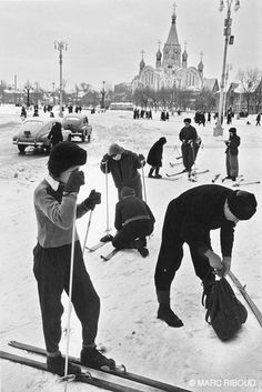 Marc Riboud, Moscow, URSS, 1960.