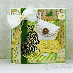 Serendipity Stamps Pear Stamp and Die Set
