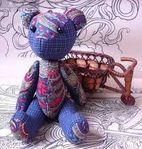 Мобильный LiveInternet Шьем медведя из старых джинсов. Выкройка игрушки | Марриэтта - Вдохновлялочка  Марриэтты |