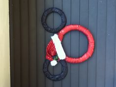 Mickey Mouse Outdoor Christmas Decor! Handmade By Me!