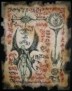 Strange Prophecies by MrZarono Demon Book, Demon Art, Fantasy Kunst, Dark Fantasy Art, Necronomicon Lovecraft, Lovecraftian Horror, Satanic Art, Dark Artwork, Arte Obscura