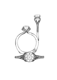 Designing NEW bridal & we need your help! We'll post 1 ring a day. Vote for your favorite & see if it comes to life! Sea Glass Jewelry, Clay Jewelry, Stone Jewelry, Jewelry Art, Fashion Jewelry, Bridal Rings, Bridal Jewelry, Ring Sketch, Jewellery Sketches