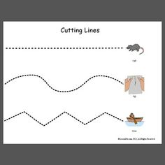 Cutting Lines - Pinned by @PediaStaff – Please Visit  ht.ly/63sNt for all our pediatric therapy pins