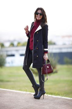 Silvia Navarro - Una silla para mi bolso blog - Botines Pura Lopez