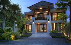 Tips Desain Rumah Sederhana Tampak Mewah Bali House, My House, Dream Home Design, House Design, Affordable Bedroom Sets, Bali Style Home, Box Houses, Dream House Exterior, Tropical Houses