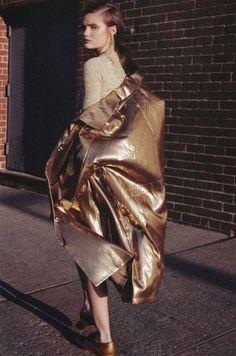 golden duster coat