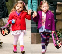 Loretta And Tabitha Broderick - How Adorable! The Smallest Stylicious Babies! <3