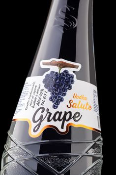 Packaging of the World is a package design inspiration archive showcasing the best, most interesting and creative work worldwide. Grape Vodka, Graphic Design Branding, Packaging Design Inspiration, Birthday Candles, Creative Package, Package Design, Fruit, Packing, Gallery