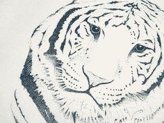 Stippled Tiger (not my art)  OH YEAHHH