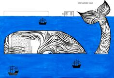 Article:  Moby-Dick; or, The Whale, by Herman Melville was published in 1851. In fact, today, November 14,marks the 163rd anniversary of the novel's first U.S. printing. It was not a blockbuster at first gl...
