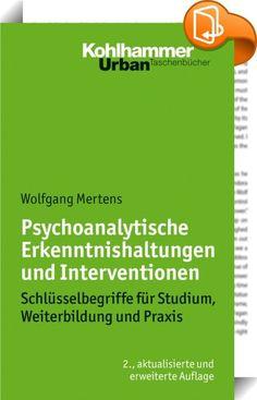 Psychoanalytische Erkenntnishaltungen und Interventionen :: In der zeitgenössischen Psychoanalyse hat sich das Repertoire der Behandlungstechnik stark ausgeweitet. Neben der klassischen Psychoanalyse und Ichpsychologie wurden neue psychoanalytische Richtungen wie Objektbeziehungstheorien, Selbstpsychologie und intersubjektive Psychoanalyse sowie modifizierte Verfahren entwickelt, die weltweit praktiziert werden. Gibt es noch eine gemeinsame Basis oder nur noch die Konkurrenz mitein...