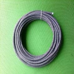 [ $25 OFF ] 100 M Dhl  2X0.75Mm2 Zig Zag Stripe Fabric Cable Textile Braided Cable Cloth Covered Electrical Wire