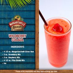 If you're not into yoga, if you have half a brain, try this Wildberry Colada and get caught in the rain!
