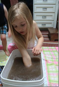 Science pollution activity for kids - can you undo pollution?