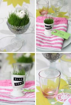 Easter table idea Happy Easter = Glad Påsk in Swedish Easter Bunny Tracks, Easter Deserts, Holiday Parties, Holiday Decor, Ukrainian Easter Eggs, Easter Traditions, Easter Table, Happy Easter, Spring Time