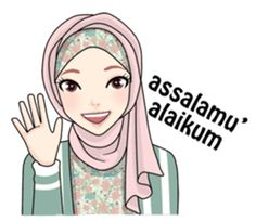 Women's rights in Islam Perspective Long ago, in Arab culture Women's position before Islam, treated more likely commodity. Cartoon Jokes, Girl Cartoon, Cute Love Cartoons, Cute Cartoon, Muslim Greeting, Assalamualaikum Image, Hijab Drawing, Islamic Cartoon, Anime Muslim