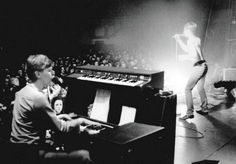David bowie on keyboards for iggy pop