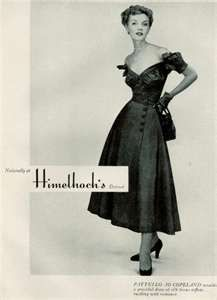 Women's fashion ads from the 1940s - Found in Mom's Basement