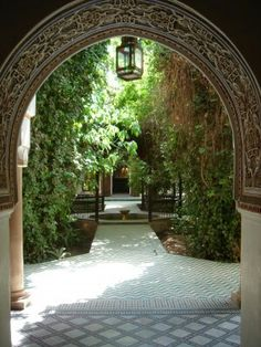 Moorish And Arabic Style Water Gardens Water Feature And