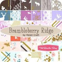 Brambleberry Ridge YardageViolet Craft for Michael Miller Fabrics