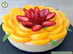 Tarta de fruta y crema pastelera