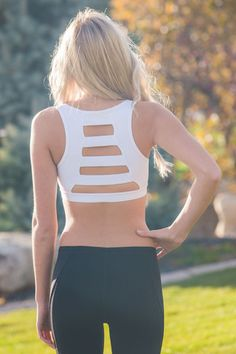 Lined Back Sports Bra | SexyModest Boutique