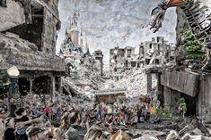 Cultural Events, Second World, Disneyland Paris, Scream, Austria, Scary, Artwork, Pictures, Painting