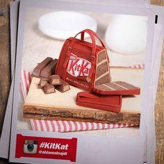#kitkat 3d Birthday Cake, 3d Cakes, Kit, Homemade, Home Made, Hand Made