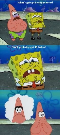 Wow. What makes Patrick so funny is that he isn't the brightest starfish in the sea