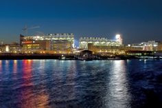 Nationals Ballpark, revitalizing SE DC, with a new view of the Anacostia River.
