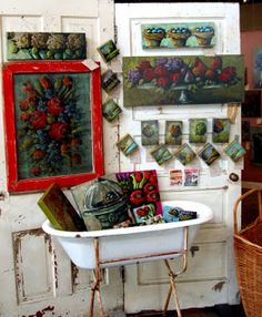 ART ON THE FARM: sanford and daughters