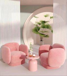 Dream Home Design, Home Interior Design, Interior Architecture, Deco Pastel, Aesthetic Room Decor, Pink Aesthetic, My New Room, Home Decor Inspiration, Decor Ideas