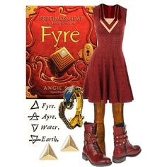 """""""Fyre ~ Septimus Heap"""" by liesle on Polyvore"""