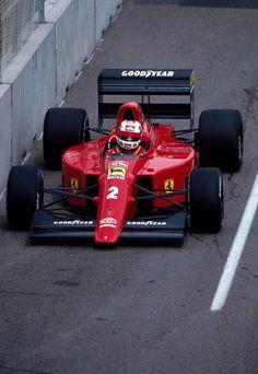 Nigel Mansell Ferrari 1990