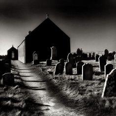 Churchyard - Shetland Islands, Scotland
